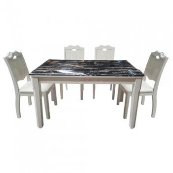 Bộ bàn ghế ăn cao cấp HGB66A, HGG66