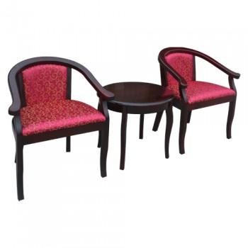 Bộ bàn ghế khách sạn BKS04, GKS04