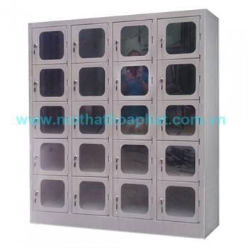 Tủ locker cánh kính Mika TU985-4K20
