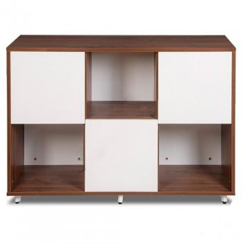 Tủ gỗ 2 mặt Hòa Phát LUX850-3T1
