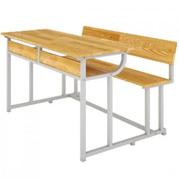 Bàn ghế sinh viên có tựa BSV107TG