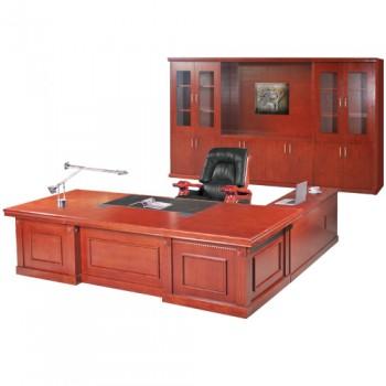 Bộ bàn giám đốc Veneer V8 DT3012V8 + DC3242V8 + M3DV2 + TPV2
