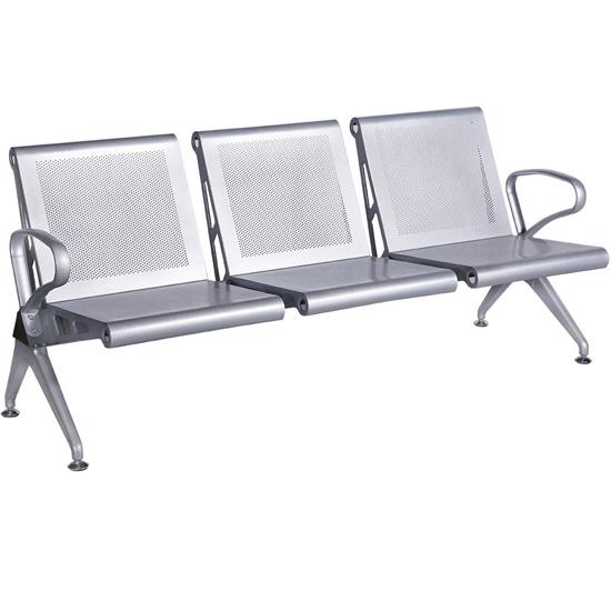 Ghế phòng chờ khung thép 3 chỗ GPC03-3
