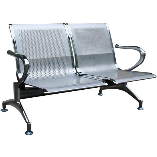 Ghế phòng chờ khung thép 2 chỗ ngồi PS01-2