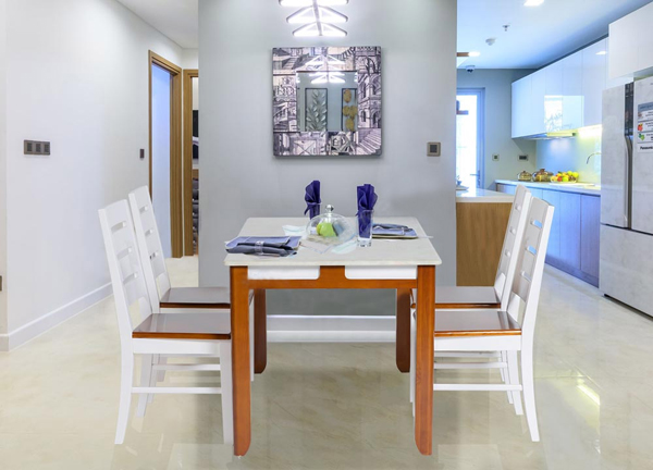 Bộ bàn ghế ăn Hòa Phát HGB64B, HGG64