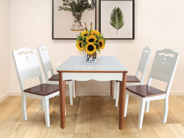 Bộ bàn ghế ăn Hòa Phát HGB70B, HGG70