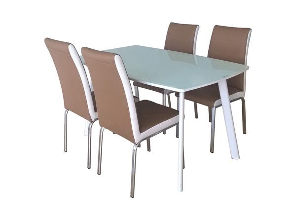 Bộ bàn ghế ăn khung thép B60, G60