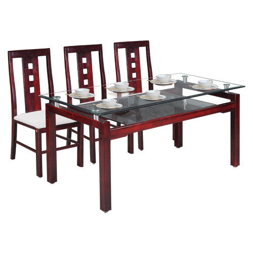 Bộ bàn ghế phòng ăn TB09-TGA24