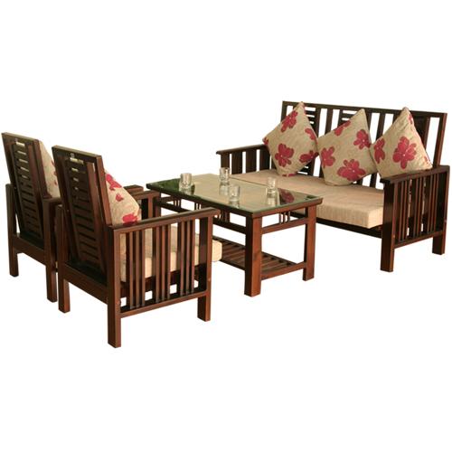 bộ Sofa gỗ Hòa Phát SF71