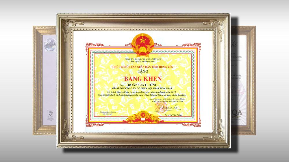 Nội thất Hoà Phát – Doanh nghiệp tiêu biểu trong sản xuất, kinh doanh của Tỉnh Hưng Yên