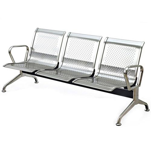 Ghế phòng chờ inox 3 chỗ ngồi PS02-3