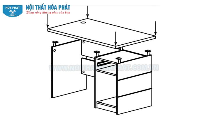 Hướng dẫn lắp đặt bàn HR120SHL, HR120HL, HR140HL