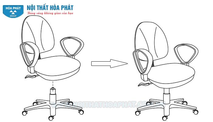 Hướng dẫn lắp đặt ghế xoay văn phòng SG550