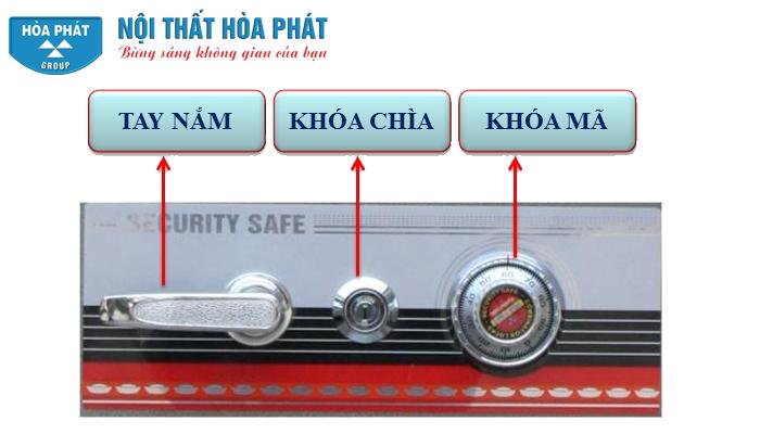 cơ cấu bảo mật két sắt tài lộc