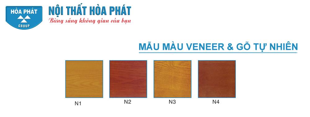Mẫu màu gỗ Veneer và gỗ tự nhiên