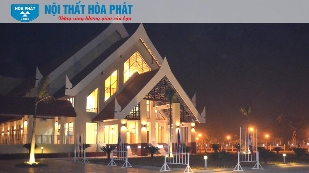 Công trình Nhà Văn Hóa Việt Lào