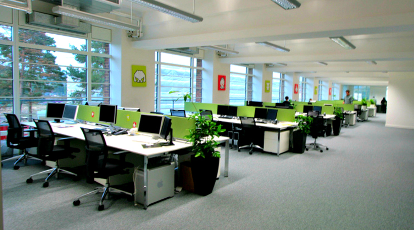Xu hướng thiết kế, thi công nội thất văn phòng 2018 và 2019