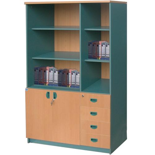 Tủ gỗ văn phòng SV1960-3G/4D