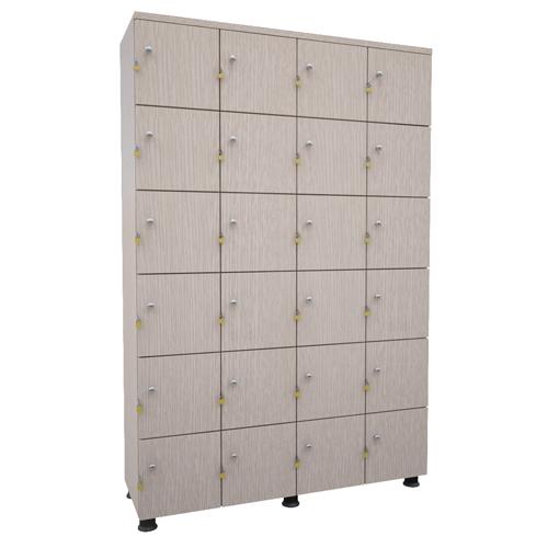 Tủ locker gỗ 24 ngăn TUG24
