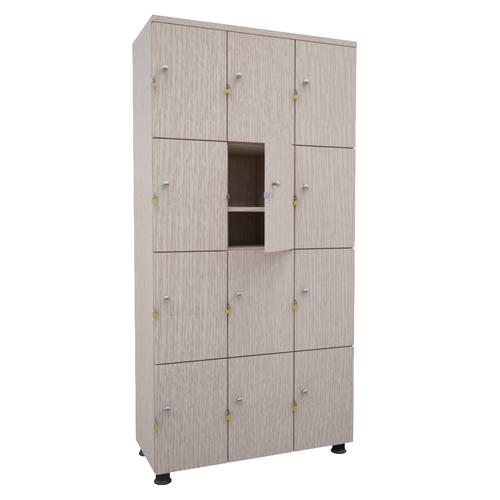 Tủ locker gỗ 18 ngăn TUG18