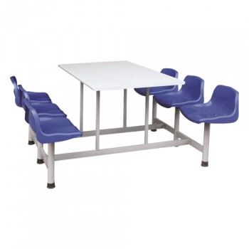 Bàn ghế ăn công nghiệp BA03