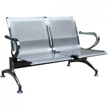 Ghế phòng chờ khung thép 2 chỗ ngồi GPC02-2